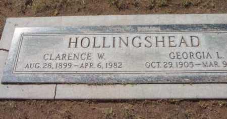 HOLLINGSHEAD, CLARENCE W. - Yavapai County, Arizona   CLARENCE W. HOLLINGSHEAD - Arizona Gravestone Photos