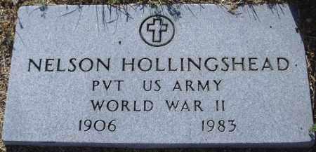 HOLLINGSHEAD, NELSON - Yavapai County, Arizona   NELSON HOLLINGSHEAD - Arizona Gravestone Photos
