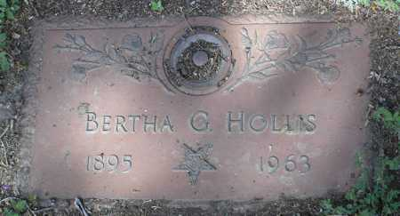 HOLLIS, BERTHA G. - Yavapai County, Arizona   BERTHA G. HOLLIS - Arizona Gravestone Photos