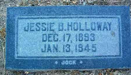SLATER HOLLOWAY, JESSIE B. - Yavapai County, Arizona   JESSIE B. SLATER HOLLOWAY - Arizona Gravestone Photos