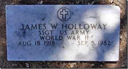 HOLLOWAY, JAMES W. - Yavapai County, Arizona   JAMES W. HOLLOWAY - Arizona Gravestone Photos