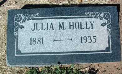 HOLLY, JULIA M. - Yavapai County, Arizona | JULIA M. HOLLY - Arizona Gravestone Photos