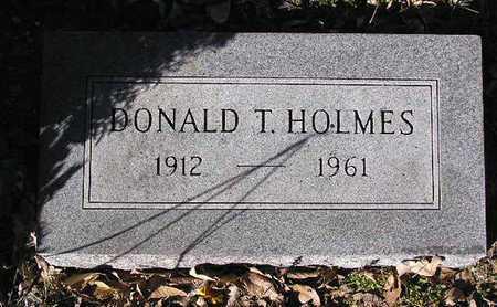 HOLMES, DONALD THOMAS - Yavapai County, Arizona | DONALD THOMAS HOLMES - Arizona Gravestone Photos