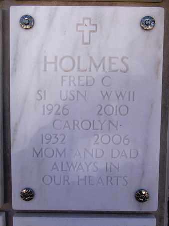 HOLMES, FRED C. - Yavapai County, Arizona | FRED C. HOLMES - Arizona Gravestone Photos