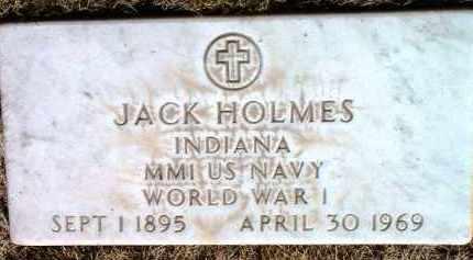 HOLMES, JACK - Yavapai County, Arizona   JACK HOLMES - Arizona Gravestone Photos