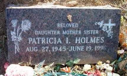 HOLMES, PATRICIA INEZ - Yavapai County, Arizona | PATRICIA INEZ HOLMES - Arizona Gravestone Photos