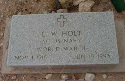 HOLT, C. W. (BUSTER) - Yavapai County, Arizona | C. W. (BUSTER) HOLT - Arizona Gravestone Photos