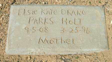 DRANE PARKS, ELSIE KATE - Yavapai County, Arizona | ELSIE KATE DRANE PARKS - Arizona Gravestone Photos