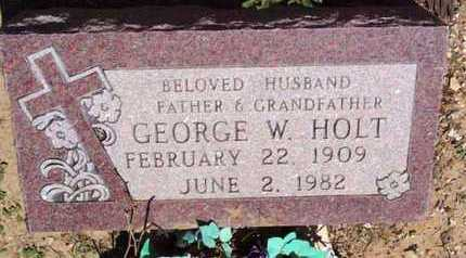 HOLT, GEORGE W. - Yavapai County, Arizona | GEORGE W. HOLT - Arizona Gravestone Photos