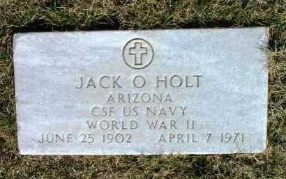 HOLT, JACK O. - Yavapai County, Arizona | JACK O. HOLT - Arizona Gravestone Photos