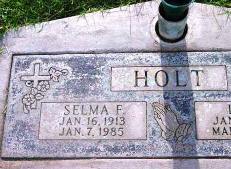 HOLT, SELMA F. - Yavapai County, Arizona | SELMA F. HOLT - Arizona Gravestone Photos