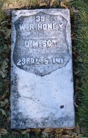 HONEY, WILLIAM R. - Yavapai County, Arizona | WILLIAM R. HONEY - Arizona Gravestone Photos