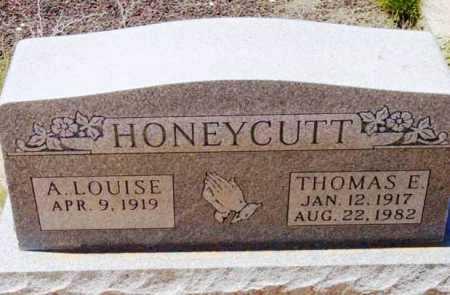 HONEYCUTT, ANNA LOUISE - Yavapai County, Arizona | ANNA LOUISE HONEYCUTT - Arizona Gravestone Photos