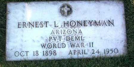 HONEYMAN, ERNEST L. - Yavapai County, Arizona | ERNEST L. HONEYMAN - Arizona Gravestone Photos