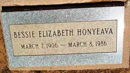 HONYEAVA, BESSIE ELIZABETH - Yavapai County, Arizona | BESSIE ELIZABETH HONYEAVA - Arizona Gravestone Photos