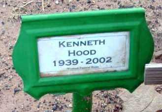 HOOD, KENNETH - Yavapai County, Arizona   KENNETH HOOD - Arizona Gravestone Photos