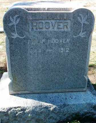 HOOVER, PHILIP - Yavapai County, Arizona | PHILIP HOOVER - Arizona Gravestone Photos