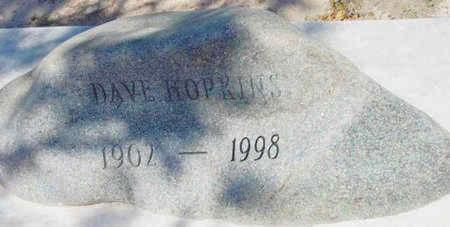 HOPKINS, DAVE W. - Yavapai County, Arizona | DAVE W. HOPKINS - Arizona Gravestone Photos