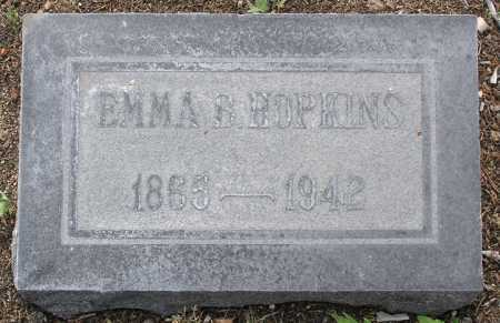 HOPKINS, EMMA B. - Yavapai County, Arizona | EMMA B. HOPKINS - Arizona Gravestone Photos
