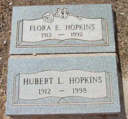 HOPKINS, FLORA EDELL - Yavapai County, Arizona   FLORA EDELL HOPKINS - Arizona Gravestone Photos
