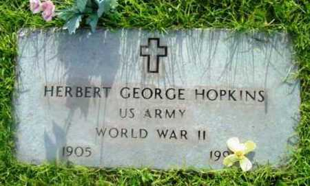 HOPKINS, HERBERT GEORGE - Yavapai County, Arizona | HERBERT GEORGE HOPKINS - Arizona Gravestone Photos