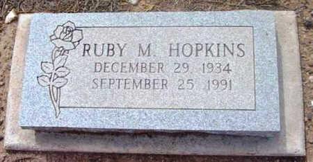 HOPKINS, RUBY MAE - Yavapai County, Arizona   RUBY MAE HOPKINS - Arizona Gravestone Photos