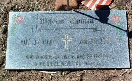 HOPMAN, WELDON - Yavapai County, Arizona | WELDON HOPMAN - Arizona Gravestone Photos