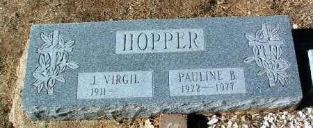 HOPPER, PAULINE B. - Yavapai County, Arizona | PAULINE B. HOPPER - Arizona Gravestone Photos