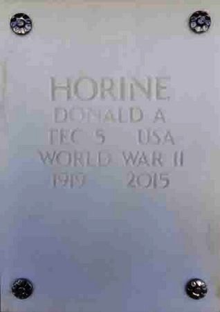HORINE, DONALD A. - Yavapai County, Arizona | DONALD A. HORINE - Arizona Gravestone Photos