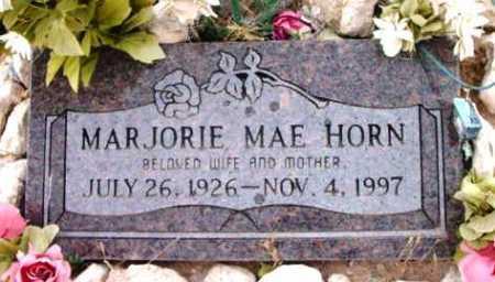 HORN, MARJORIE MAE - Yavapai County, Arizona | MARJORIE MAE HORN - Arizona Gravestone Photos