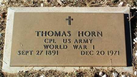 HORN, THOMAS - Yavapai County, Arizona | THOMAS HORN - Arizona Gravestone Photos