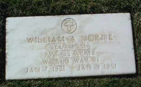 HORNE, WILLIAM ALBERT - Yavapai County, Arizona | WILLIAM ALBERT HORNE - Arizona Gravestone Photos