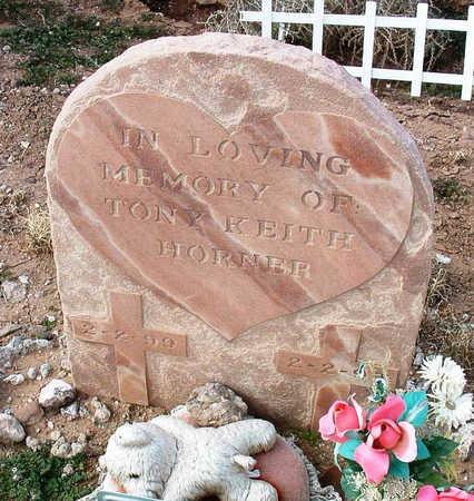HORNER, TONY KEITH - Yavapai County, Arizona | TONY KEITH HORNER - Arizona Gravestone Photos