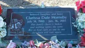 HORNSBY, CLARISSA DALE - Yavapai County, Arizona   CLARISSA DALE HORNSBY - Arizona Gravestone Photos