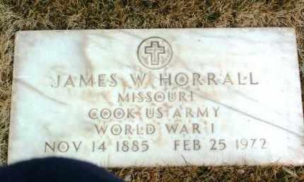 HORRALL, JAMES W. - Yavapai County, Arizona   JAMES W. HORRALL - Arizona Gravestone Photos