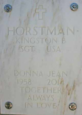 HORSTMAN, KINSTON B. - Yavapai County, Arizona | KINSTON B. HORSTMAN - Arizona Gravestone Photos