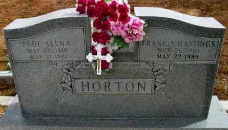 HORTON, FRANCIS HASTINGS - Yavapai County, Arizona | FRANCIS HASTINGS HORTON - Arizona Gravestone Photos