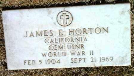 HORTON, JAMES EDGAR - Yavapai County, Arizona | JAMES EDGAR HORTON - Arizona Gravestone Photos