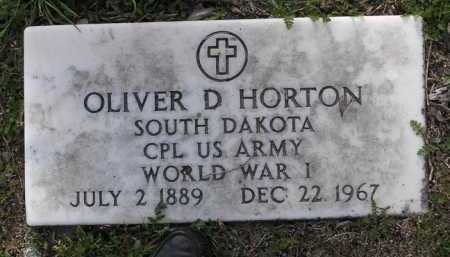 HORTON, OLIVER DAVID - Yavapai County, Arizona | OLIVER DAVID HORTON - Arizona Gravestone Photos