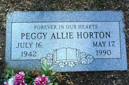 ALLIE HORTON, PEGGY E. - Yavapai County, Arizona | PEGGY E. ALLIE HORTON - Arizona Gravestone Photos