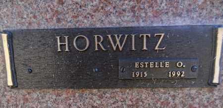HORWITZ, ESTELLE O. - Yavapai County, Arizona | ESTELLE O. HORWITZ - Arizona Gravestone Photos