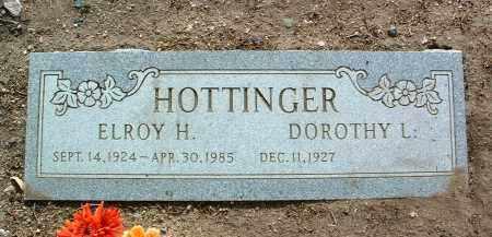 HOTTINGER, DOROTHY L. - Yavapai County, Arizona | DOROTHY L. HOTTINGER - Arizona Gravestone Photos