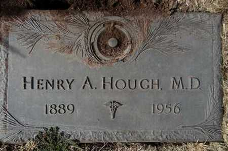 HOUGH, HENRY A., MD - Yavapai County, Arizona | HENRY A., MD HOUGH - Arizona Gravestone Photos
