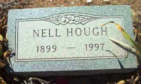 HOUGH, NELLIE B. (NELL) - Yavapai County, Arizona   NELLIE B. (NELL) HOUGH - Arizona Gravestone Photos
