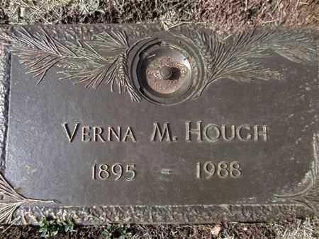 HOUGH, VERNA M. - Yavapai County, Arizona | VERNA M. HOUGH - Arizona Gravestone Photos