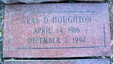 HOUGHTON, NEAL D. - Yavapai County, Arizona | NEAL D. HOUGHTON - Arizona Gravestone Photos