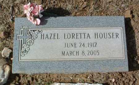 GRAVES HOUSER, HAZEL L. - Yavapai County, Arizona | HAZEL L. GRAVES HOUSER - Arizona Gravestone Photos