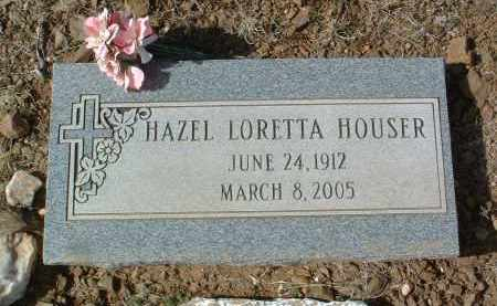 HOUSER, HAZEL LORETTA IRENE - Yavapai County, Arizona | HAZEL LORETTA IRENE HOUSER - Arizona Gravestone Photos