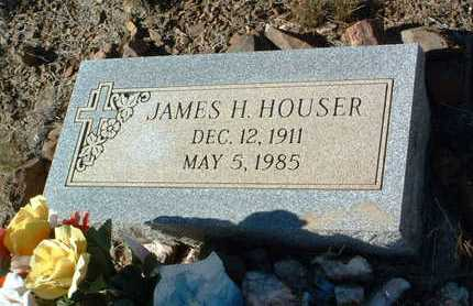 HOUSER, JAMES HUBERT - Yavapai County, Arizona | JAMES HUBERT HOUSER - Arizona Gravestone Photos