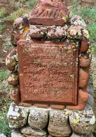 HOVER, NEWTON GREENBERRY - Yavapai County, Arizona   NEWTON GREENBERRY HOVER - Arizona Gravestone Photos